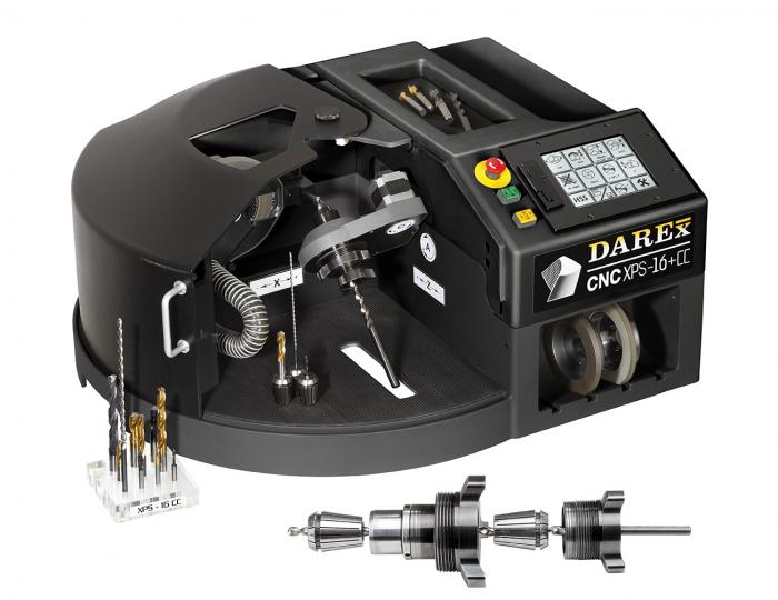Spiralbohrer-Schleifmaschine DAREX XPS 16+ CC CNC