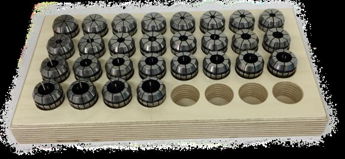 Rego-Fix-Spannzangensatz ER 25 UP, 2,5 – 16,0 mm (28 Stück)