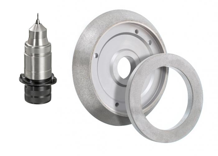 Optionen Präzisions-Spannfutter 1,5 – 7,0 mm im Set inkl. Schleif- und Ausspitzscheibe für DAREX XT-3000 / AUT